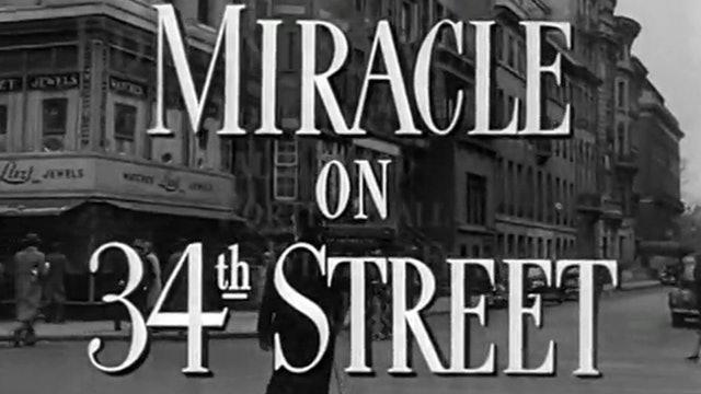 经典圣诞题材英文电影之34街奇迹-1947版